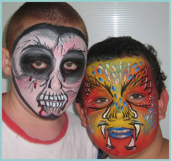 Face Painting, Huddersfield, west Yorkshire